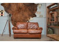 JOHN LEWIS TETRAD CORDOBA 2 SEATER SOFA BROWN