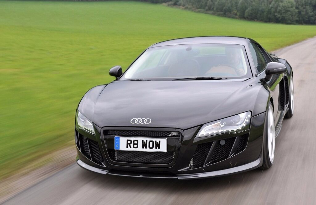R WOW Private Number Plate Personalised Registration Audi R - Audi car number