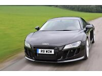 'R8 WOW' Private Number Plate, Personalised Registration Audi R8