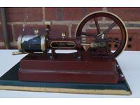 Steam engine WEEDEN, 1930's. Electrical heated