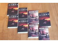signed paperback copies of horror novels from Bedworth author.