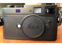 LEICA M Monochrom [mk1] 18MP CCD Black & White Digital Camera - Black