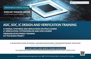 Wireless Training Center | ASIC, SoC, IC Design, Verification, Firmware, IoT PCB Design Courses in Vancouver, BC