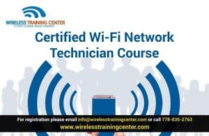 CERTIFIED WI-FI NETWORK TECHNICIAN COURSE | WIRELESS TRAINING CENTER | CANADA