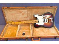 USA 60th anniversary Fender American Telecaster Sunburst Bigsby tremolo