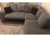Corner Sofa, Twister chair & foot stool for urgent sale
