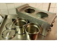 £80 ono - Lincat Bainmarie, 2 Pot Food Warmer