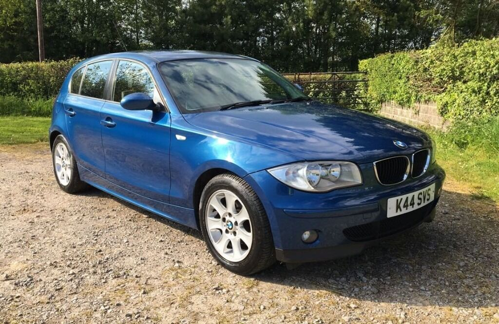 2004 bmw 118d se blue 5 door manual hatchback numberplate included in barry vale of. Black Bedroom Furniture Sets. Home Design Ideas