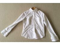 WHISTLES LADIES WHITE FITTED SHIRT SIZE 10 £20
