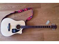 Bass Guitar Fender CD-100CE Electro Acoustic. £190 As New. Location Ipswich.