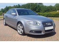 Audi A6 S-Line 2007 2.0 TDI, Sat Nav, Full Leather, Genuine Alloys, Quick Sale