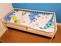 Toddler bed white Ikea Gulliver