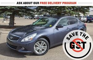 2013 Infiniti G37X *AWD *Leather *Bluetooth