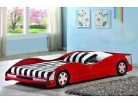 Single Car Bed Frame + Mattress RRP £220