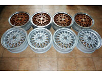 15'' Genuine Volswagen alloys made by BBS, Fitment 4x100