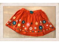 Skirt girl 2years old