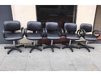 5x Salon Swivel Chairs