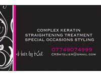 COMPLEX KERATIN STRAIGHTENING TREATMENT