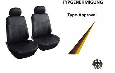 Schwarz Effekt 3D Sitzbezüge für BMW SERIE 1  1er Autositzbezug Komplett