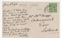 Mr & Mrs Maggs, Ardenconnel, Row, Scotland 1914 Postcard, B251 -  - ebay.co.uk