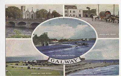 Galway Multiview Postcard, B310