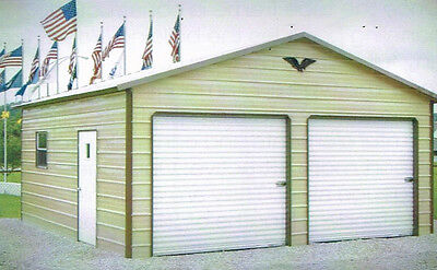 Garage 22 X 26 X 8 Priced From Tx-va - Free Delivery And Installation