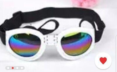 New Fashion For MEDIUMPET DOG Goggles Doggles SUNGLASSES UV Eye Protection Wear