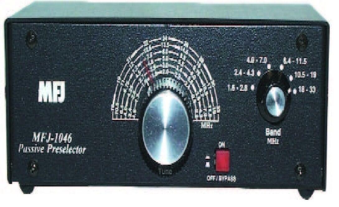 Details about MFJ-1046 Receiver Passive Preselector 1 6-33MHz