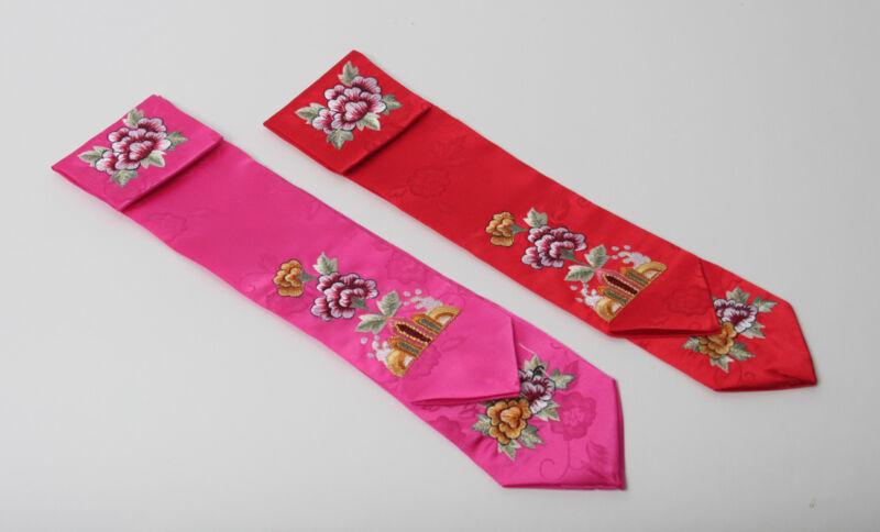 hanbok hair accessory DAENGGI girls Korea traditional head pieces embroidery