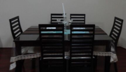 7 piece dining table set and outdoor 6 seat table set Blacktown Blacktown Area Preview