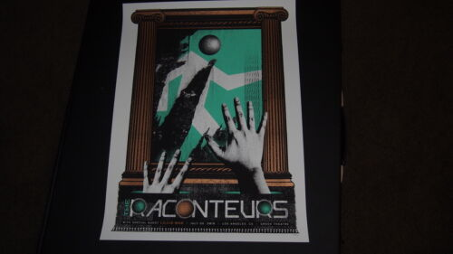 THE RACONTEURS Concert Poster LA Greek Theatre 2019 /240 JACK WHITE STRIPES