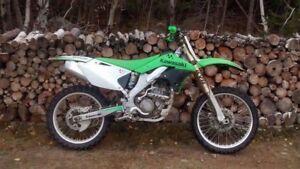Kawasaki 250f 4 temps