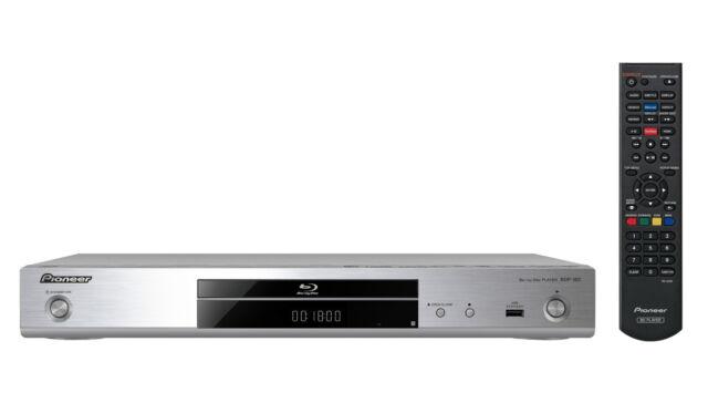 Pioneer BDP-180 Blu-ray-Player mit SACD-Unterstützung-SILBER