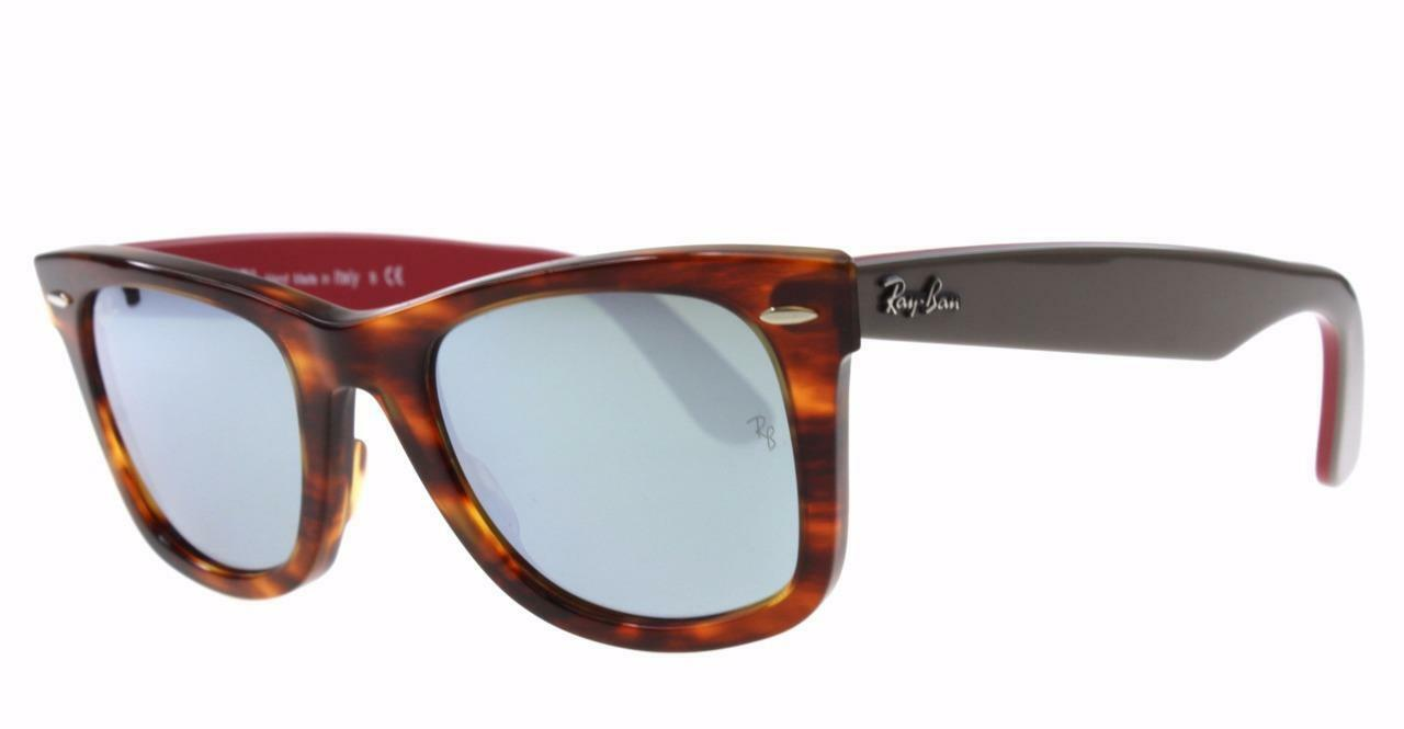 d4abf9a88b NEW Authentic Ray-Ban Wayfarer Sunglasses RB 2140 50mm 1178 30 ...