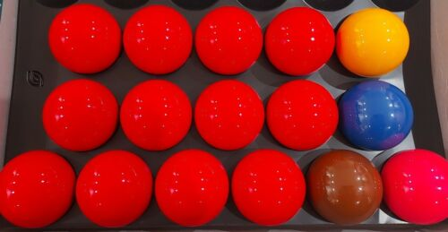 Spare Tournament Champion Snooker Balls - Size 2 1/16