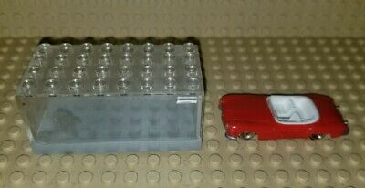 Lego HO Scale Vintage Classic 1960'S Mercedes 190SL Red W/ Case