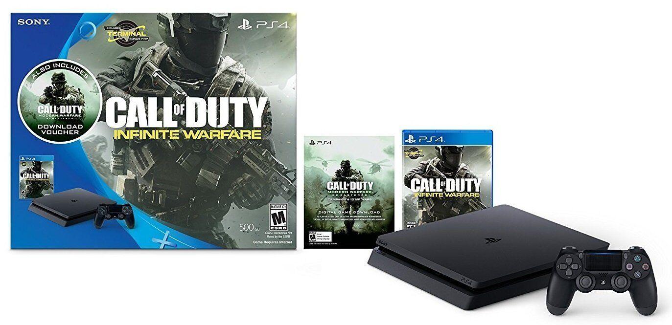 Купить Sony PlayStation 4 Slim - PlayStation 4 Slim 500GB Console Call of Duty: Infinite Warfare Legacy Bundle