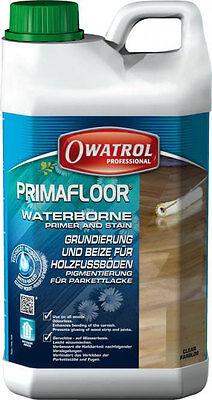Primafloor ebenholz 1l Owatrol Einkomponenten Hartgrund Grundierung Holz Boden ()
