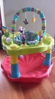 *** Exersaucer - almost brand new ***