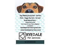 Ryedale Pet Services Pet/Equine Sitting and Dog Walking