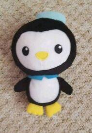 Octonauts Pesco beanie toy