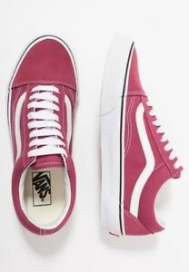 d069baf61ef873 OLD SKOOL VANS DRY ROSE   47  TRUE WHITE SIZE 7.5 MENS SHOES