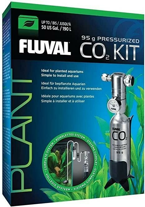 Fluval 95g Pressurized CO2 Kit