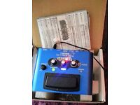 BOSS VE1 VOCAL EFFECTS PROCESSOR PEDAL