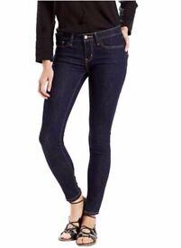 Levi's 311 Slimming Skinny Jeans - UK 14 - Dark Blue
