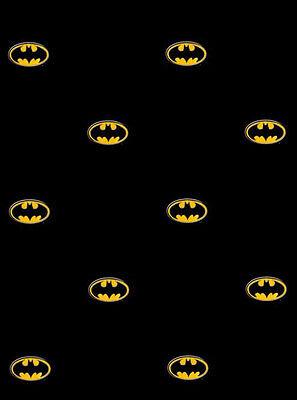 Batman Logo on Black Sure Strip Wallpaper BZ9234 (Batman New Wallpaper)