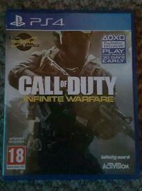 Call of Duty Infinate Warfare Playstation 4