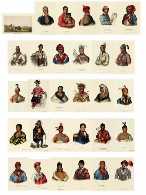 McKenney Hall Indian O-PO-ETH-LE-YO-HO-LO, Speaker Of The Councils, Creek Chief - $9.99