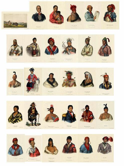 McKenney Hall Indian SE-LOC-TA, A Creek Chief 13 x19 Print - $9.99