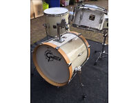 Gretsch Catalina Club Jazz Drum Kit For Sale (Four-Piece, White Marine Pearl)